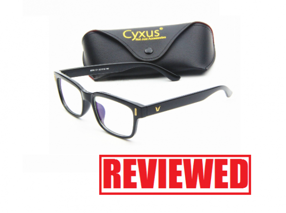 8f6ed23f363 Cyxus Blue Light Filter Vintage Glasses Review. What is the Cyxus computer  glasses  Do ...