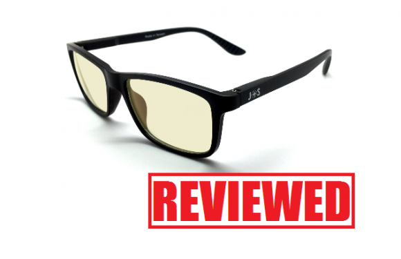 J+S Vision Blue Light Shield Computer Glasses Review
