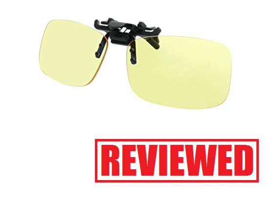 GAMEKING Blue Light Blocking Clip-on Computer Glasses Review