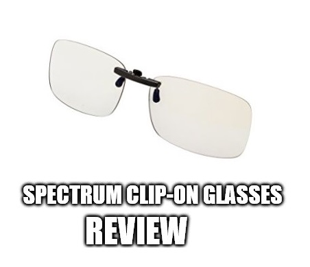 Spektrum Anti Blue Light Clip-On Glasses Review