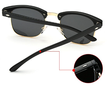 Joopin Semi Rimless Polarized Sunglasses Review