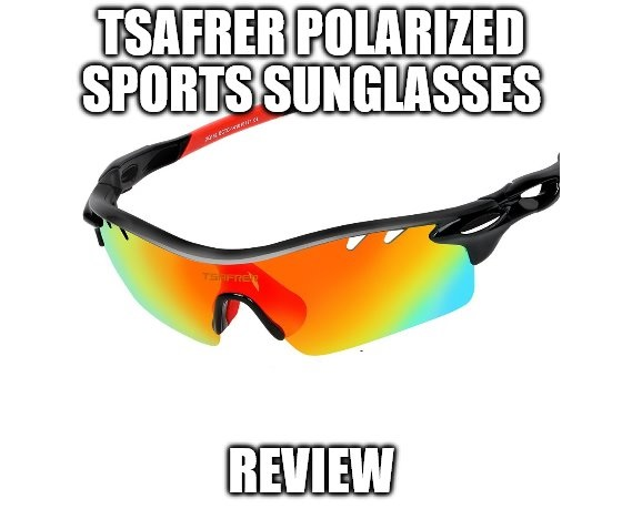 8ca07bd0a3c Tsafrer Polarized Sports Sunglasses Review  Interchangeable Lenses ...
