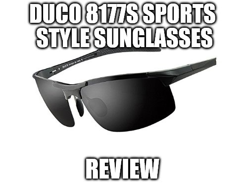 5deefa5640a Duco 8177S Sports Style Sunglasses Review  Polarized Eyewear ...