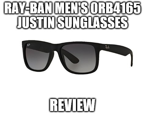 Ray-Ban Men's 0RB4165 Justin Sunglasses Review