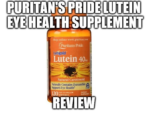Puritan's Pride Lutein Eye Health Supplement Review