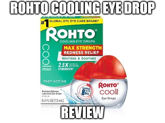 Rohto Cooling Eye Drop Review