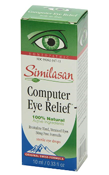 Best Eye Drops for Computer Eye Strain 2019