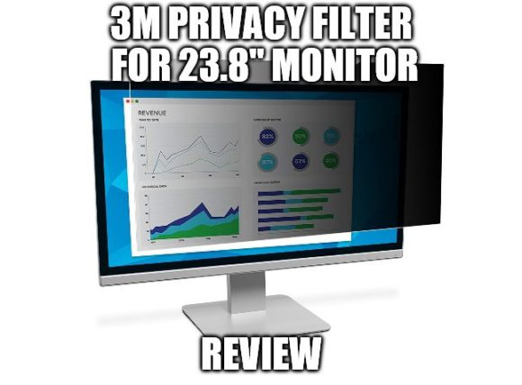 "3M Privacy Filter For 23.8"" Widescreen Monitor Review"