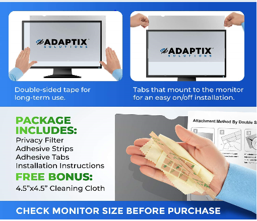 Adaptix Monitor Privacy Screen Protector Review