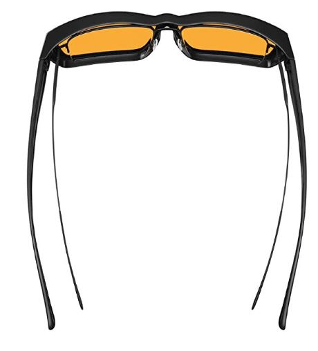 f3ef7f0871 Swanwick Sleep Fitover Blue Light Blocking Glasses Review  Wear Over ...