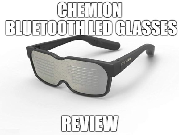 CHEMION Bluetooth LED Glasses Review