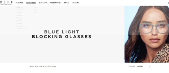 DIFF Eyewear Blue Light Blocking Glasses Review